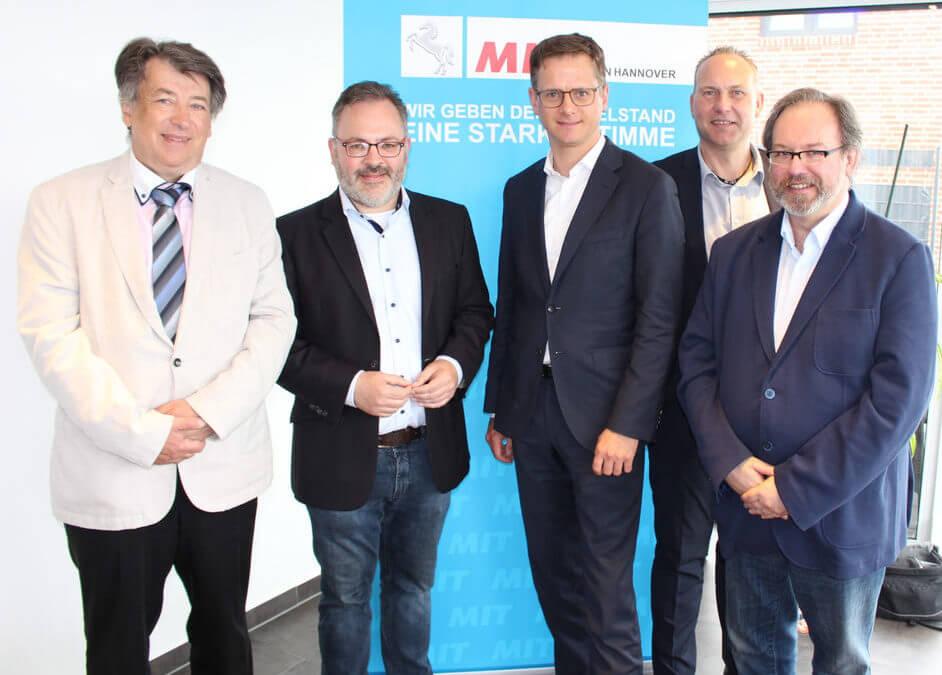 MIT-Stadtverband Burgdorf – Dr. Carsten Linnemann MdB beim Burgdorfer Wirtschaftsforum