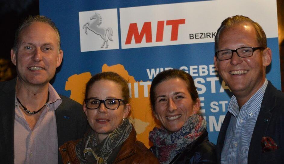 Die MIT Wedemark freut sich über 2 neue Mitglieder: Maike Höcker und Melanie Meinen
